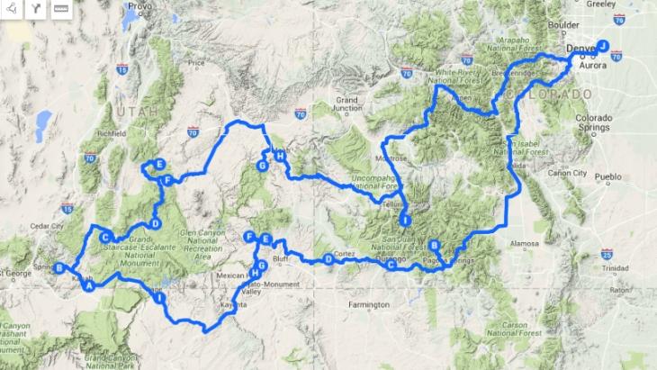 original route